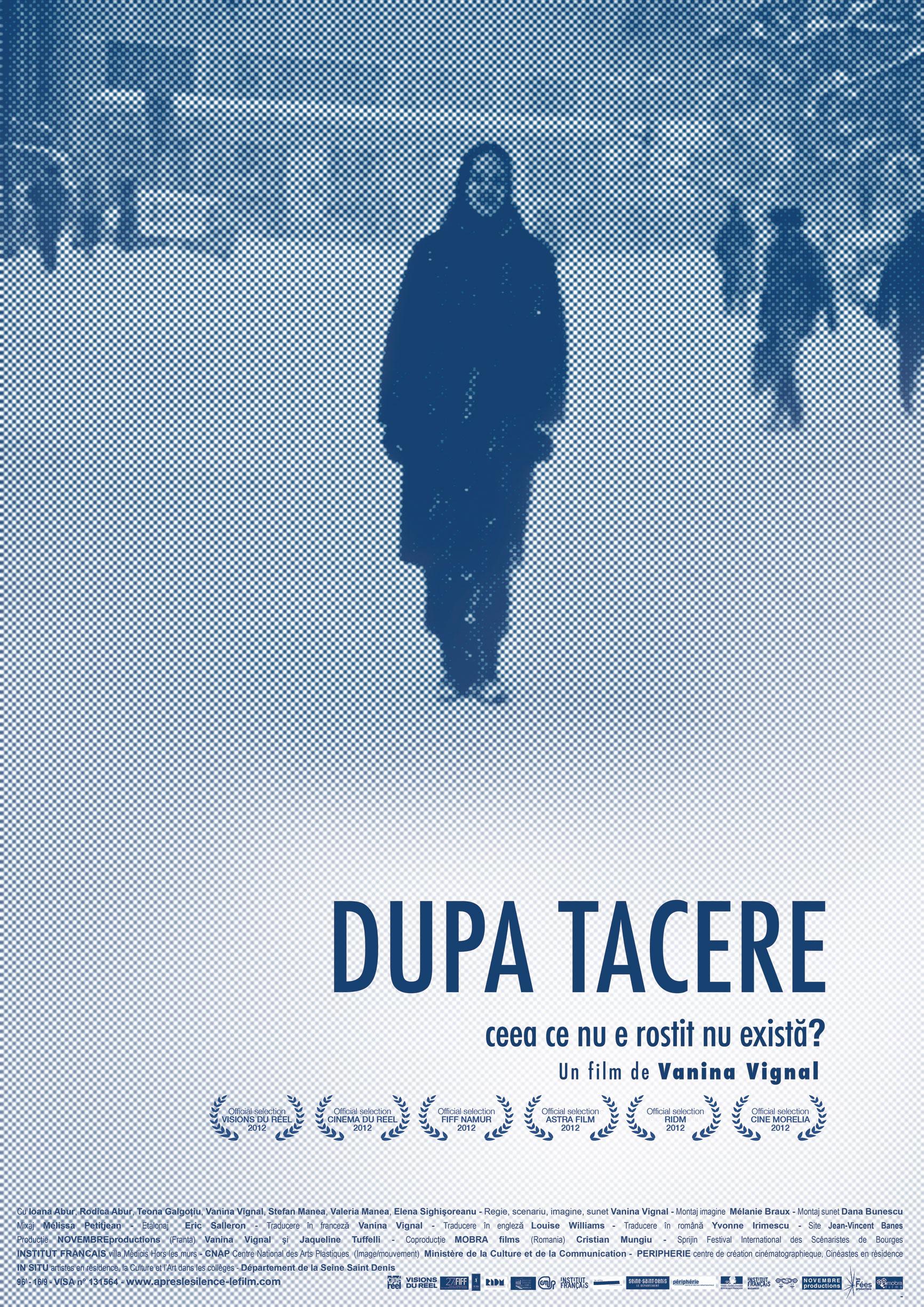 DupaTacereAFFICHE-RO